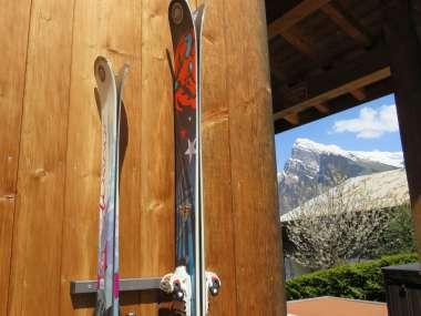 Kit De Rangement Mural Pour 2 Paires De Ski