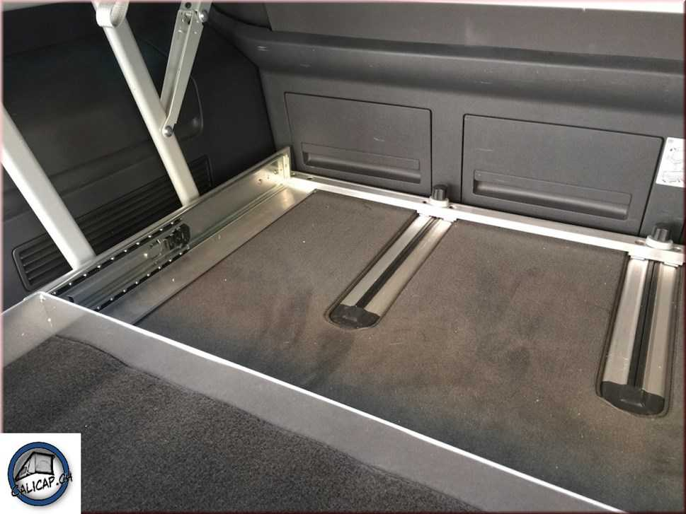 vw t5 t6 calidrawer heckauszug vollaluminium accessoires. Black Bedroom Furniture Sets. Home Design Ideas