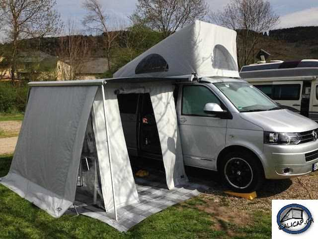 vw t5 t6 california calicave markisenvorzelt komplett accessoires. Black Bedroom Furniture Sets. Home Design Ideas