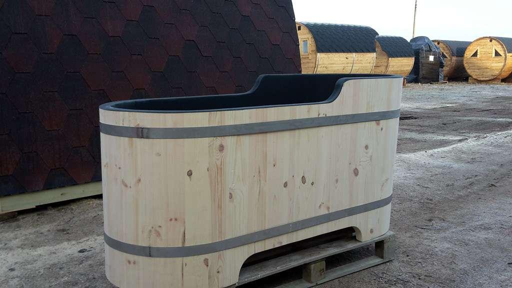 Baignoire en bois sur mesure accessoires pour le salle for Baignoire sur mesure
