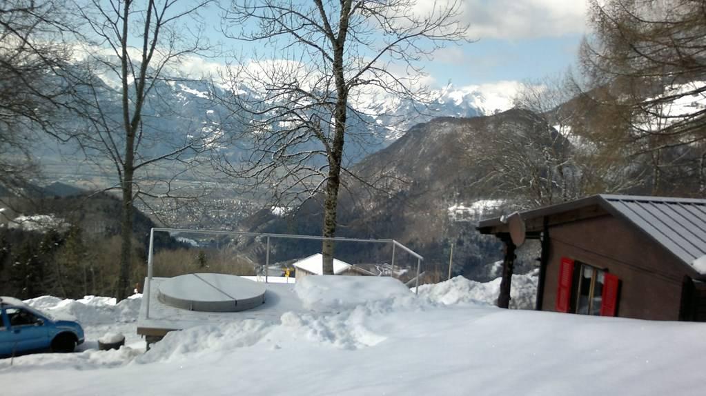 Chalet cosi la montagne avec jacuzzi et vue magnifique for Chalet a la montagne avec piscine
