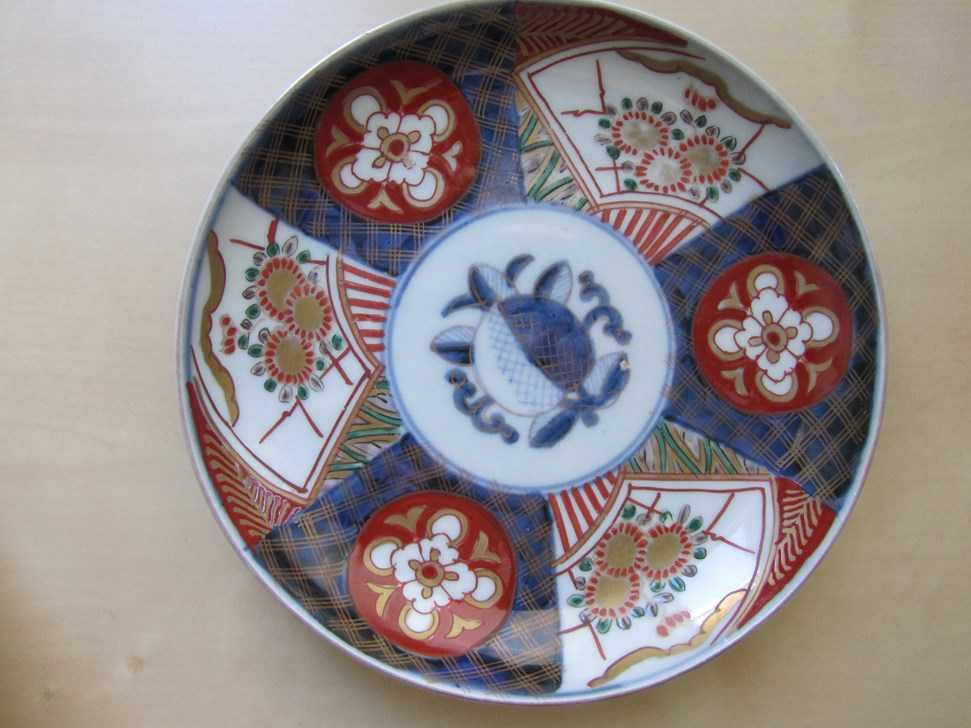 Assiettes japonaises anciennes