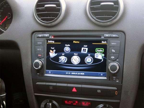 Autoradio Audi A3 S3 RS3 Bluetooth, USB, GPS