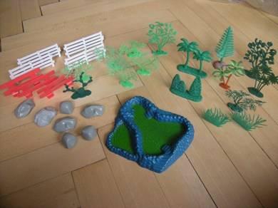 divers sets animaux et d cors en plastique autres. Black Bedroom Furniture Sets. Home Design Ideas