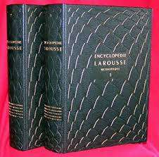 encyclopedie larousse methodique 1955