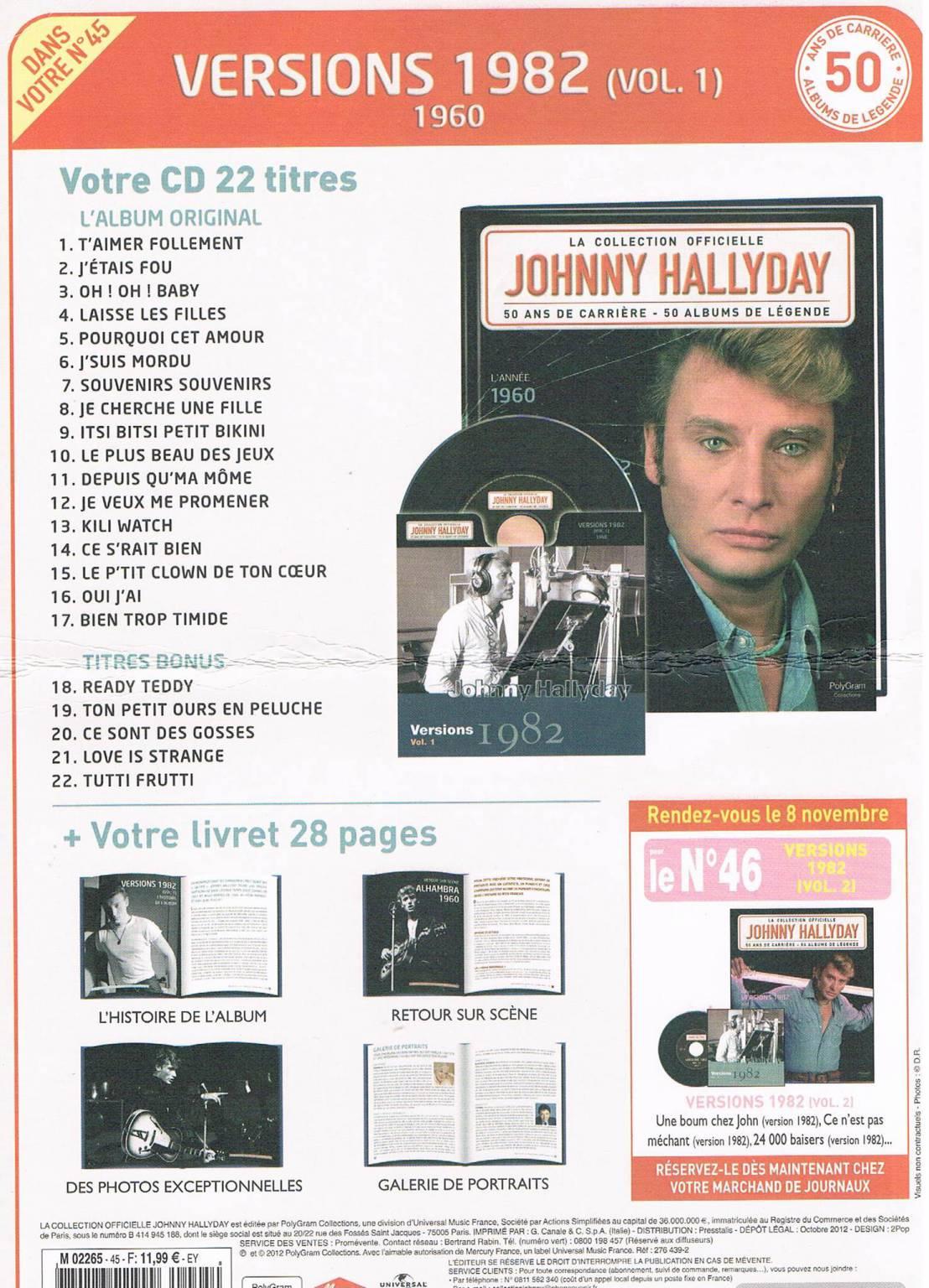 johnny hallyday nashville 1963 cd 17 titres livret 28 p autres. Black Bedroom Furniture Sets. Home Design Ideas