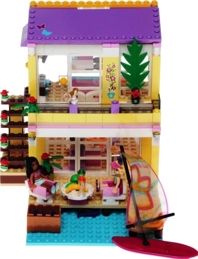 lego friends 41037 stephanies strandhaus autres. Black Bedroom Furniture Sets. Home Design Ideas