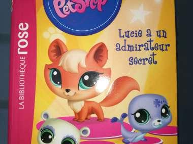 Livre Littlest Petshop Bibliotheque Rose Lucie A Un Admira