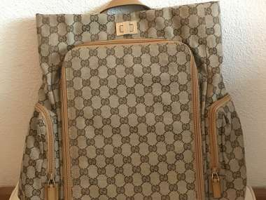 official shop pre order for whole family Sac à langer / sac à dos GUCCI, neuf