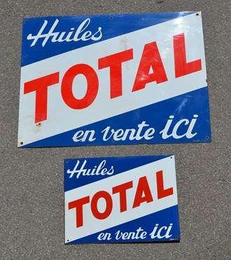 V ritables plaques maill es anciennes pour d co garage for Plaque garage w