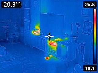 cam ra thermique location flir e4 e8 320x240 macro photographie. Black Bedroom Furniture Sets. Home Design Ideas