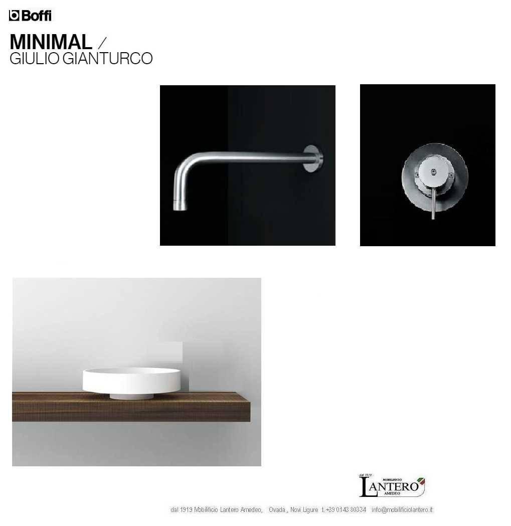 Boffi bassin lotus mixer minimal bad accessoires for Minimal wohnen