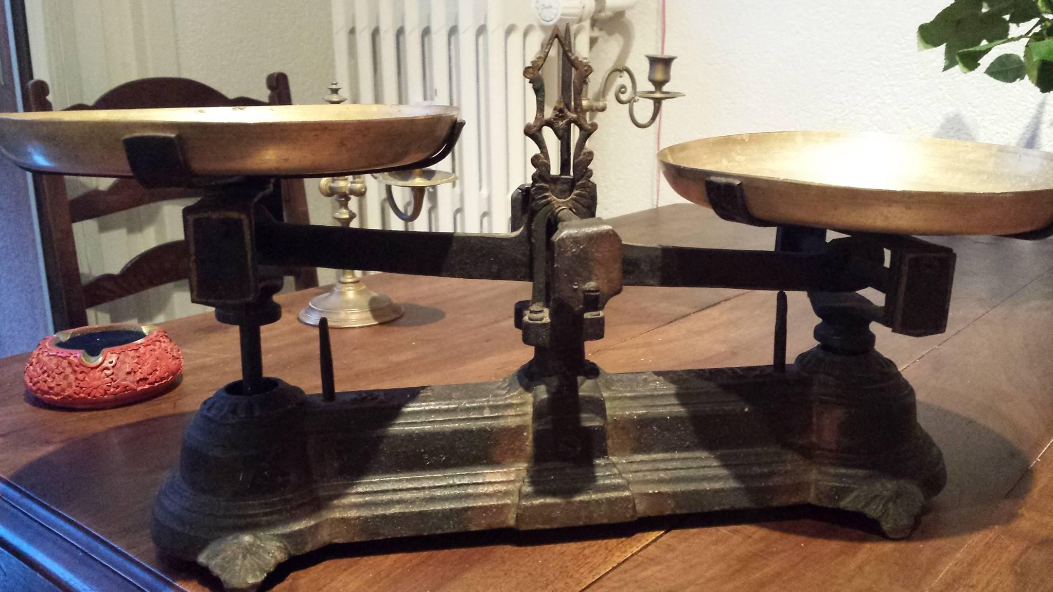 balance roberval kraft 5kg balances anciennes poids. Black Bedroom Furniture Sets. Home Design Ideas