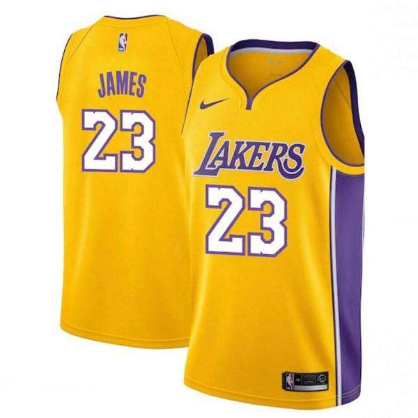 brand new 02890 af8bf LeBron James / Los Angeles Lakers 2018 / Maillot-Trikot NBA.