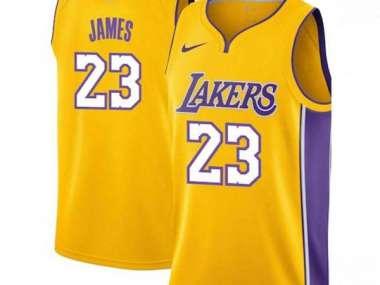 brand new 6e9cd 02265 LeBron James / Los Angeles Lakers 2018 / Maillot-Trikot NBA.