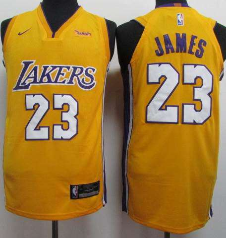 on sale 2f892 52f24 Los Angeles Lakers 2018 / LeBron James / Home; Away & Third.