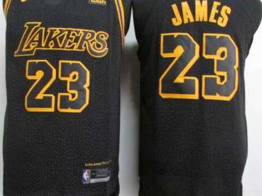 on sale 73969 7559e Los Angeles Lakers 2018 / LeBron James / Home; Away & Third.