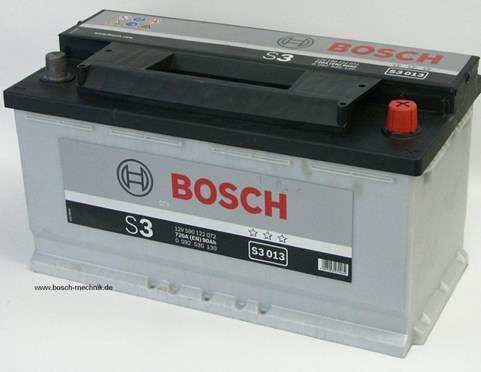 bosch autobatterie starterbatterie 90ah neu mit garantie. Black Bedroom Furniture Sets. Home Design Ideas