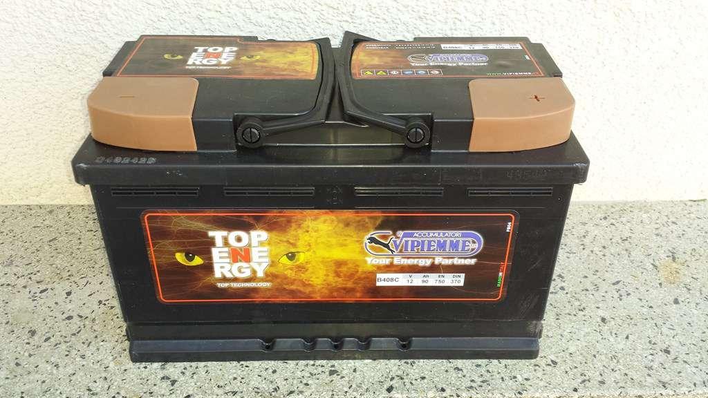 autobatterie starterbatterie neu 90ah mit garantie. Black Bedroom Furniture Sets. Home Design Ideas