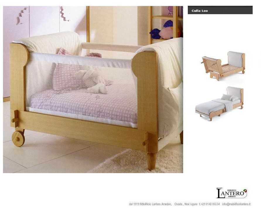 lit b b leo galli lit simple berceaux. Black Bedroom Furniture Sets. Home Design Ideas