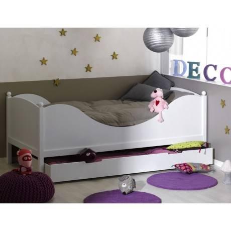 lit enfant 90x190arthur et maelys betten matratzen. Black Bedroom Furniture Sets. Home Design Ideas