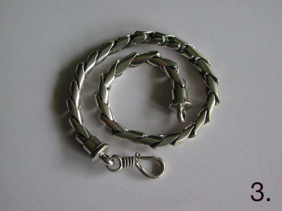 bracelet chaine maille bulat en argent prix bas bijoux pour hommes. Black Bedroom Furniture Sets. Home Design Ideas