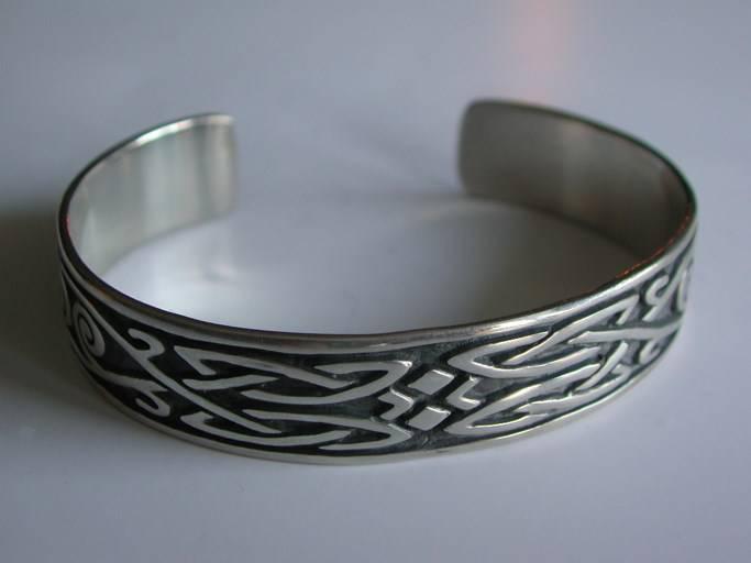 bracelet motif celtique pour homme en argent 925 bijoux. Black Bedroom Furniture Sets. Home Design Ideas