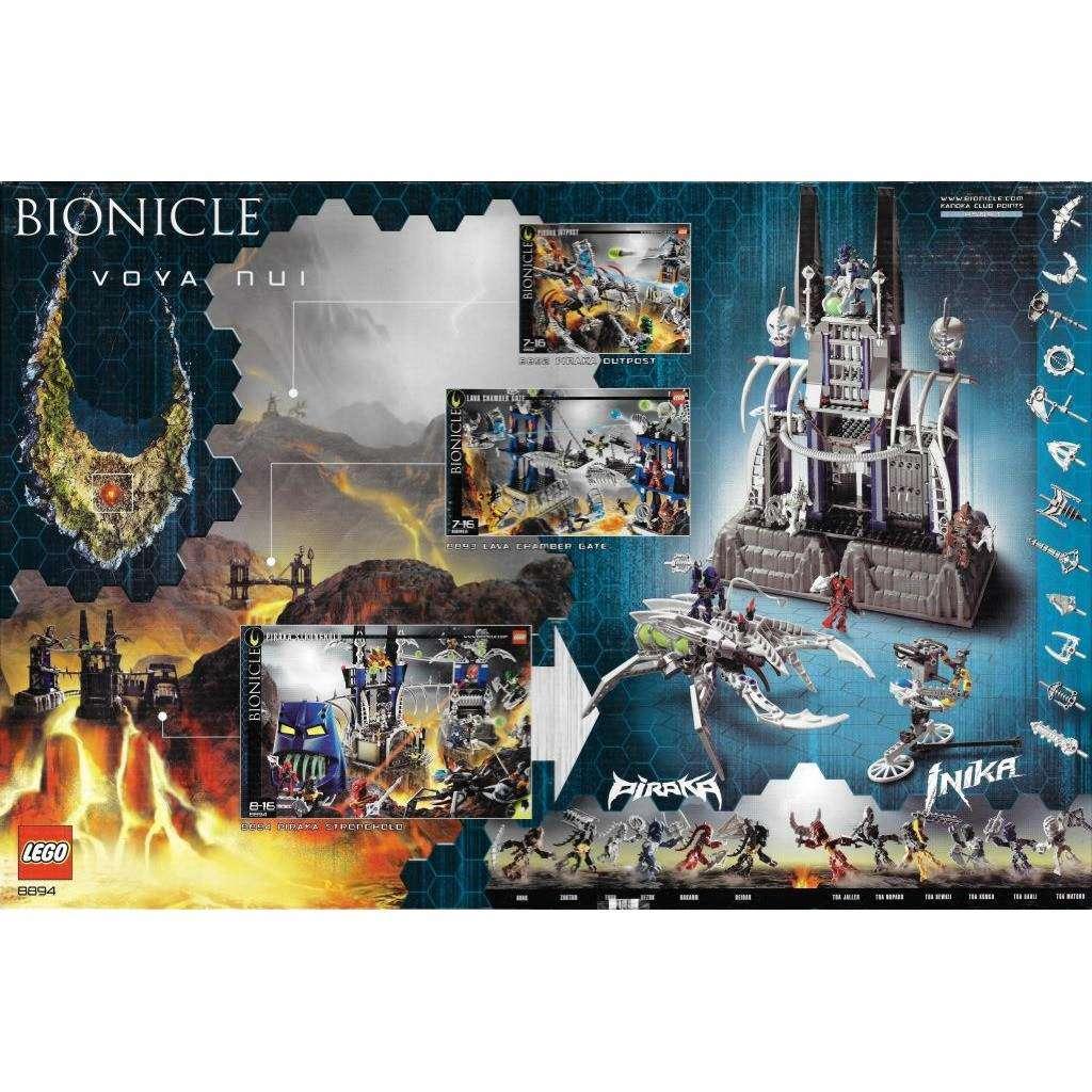 Lego Bionicle 8894 Piraka Festung Bionicle