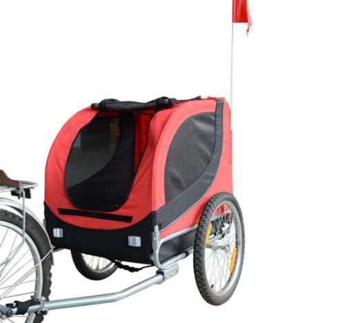 Hunde Fahrradanhänger Pawhut Rotschwarz Box Transportbox