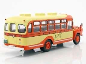 neu: isuzu bxd-30 bus 1962 orange / gelb 1:43 von altaya - modelli