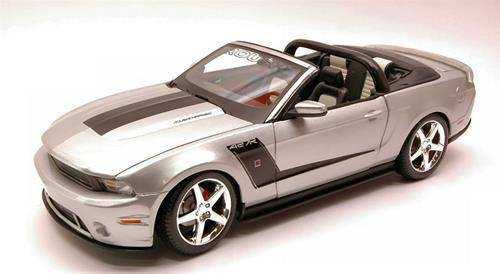 neu ford mustang roush 427r convertible 2010 silber met cabriolets. Black Bedroom Furniture Sets. Home Design Ideas