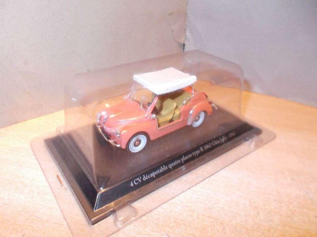 Neu Renault 4cv Décapotable Type R 1062 Ghia Jolly 1961 Cabriolets