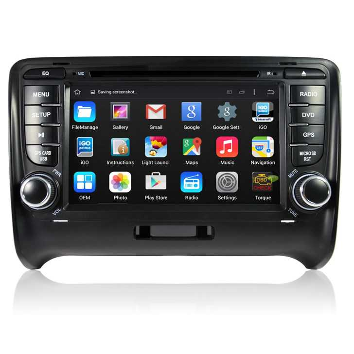 autoradio 2 din android gps bluetooth pour audi tt s rs car hifi. Black Bedroom Furniture Sets. Home Design Ideas