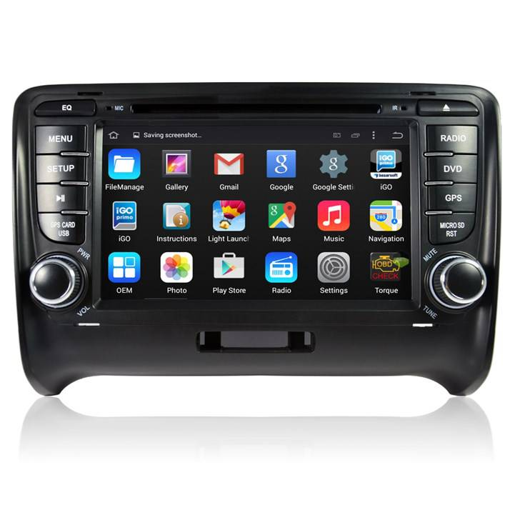 autoradio 2 din android gps bluetooth pour audi tt s rs. Black Bedroom Furniture Sets. Home Design Ideas