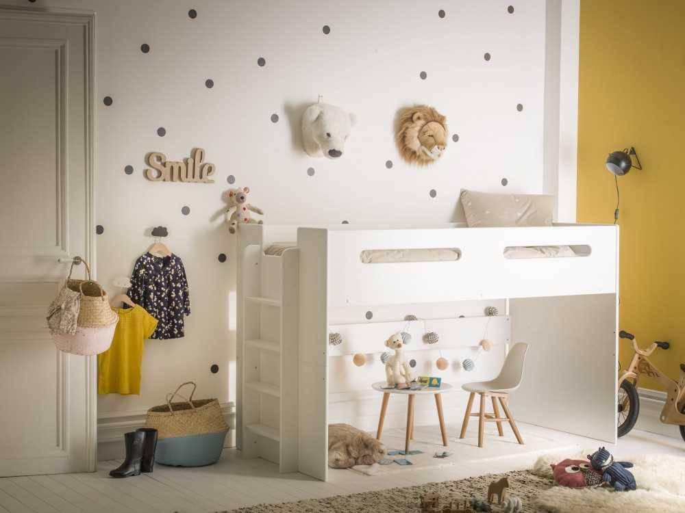 lit combi 90x190 volutif chambres d 39 enfant. Black Bedroom Furniture Sets. Home Design Ideas