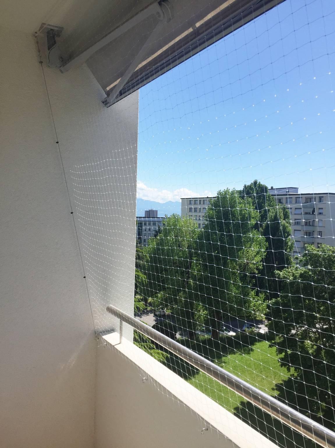 Filet De Protection : installation de filet de protection transparent ~ Nature-et-papiers.com Idées de Décoration
