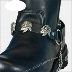 chaines de bottes en cuir moto custom harley chaussures bottes. Black Bedroom Furniture Sets. Home Design Ideas