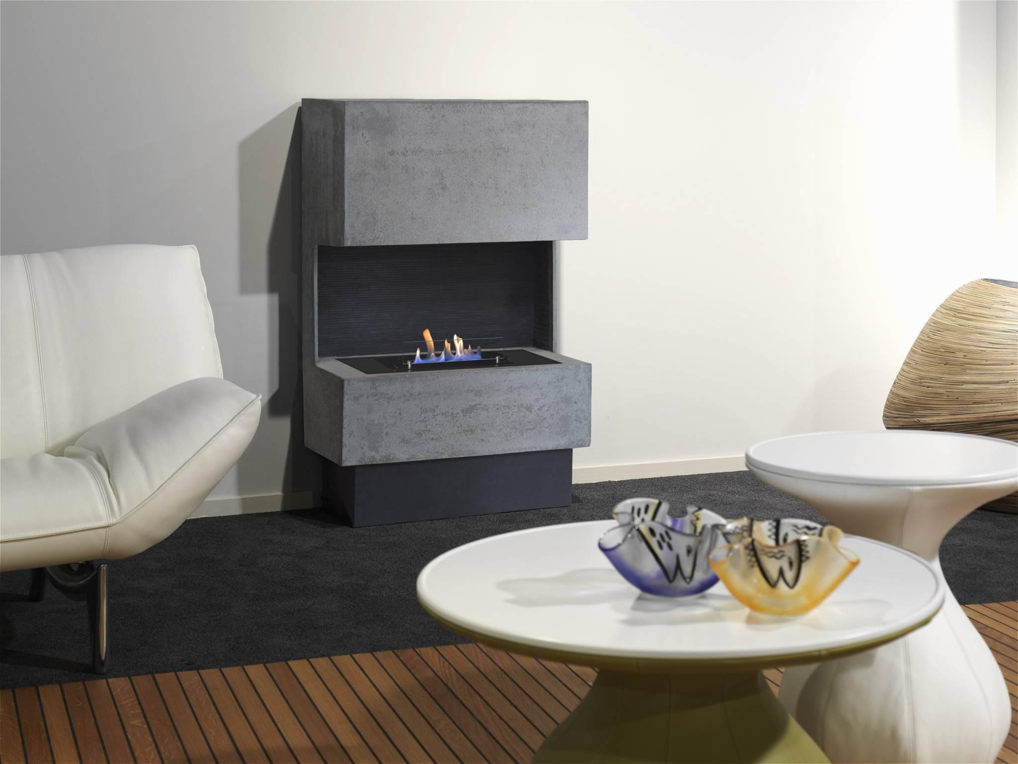 bio ethanol kamin nuoro im betonlook chemin e. Black Bedroom Furniture Sets. Home Design Ideas