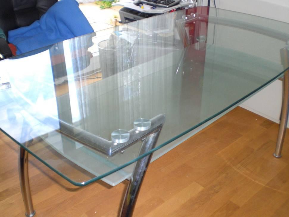 glastisch mit ablage wohnzimmer. Black Bedroom Furniture Sets. Home Design Ideas