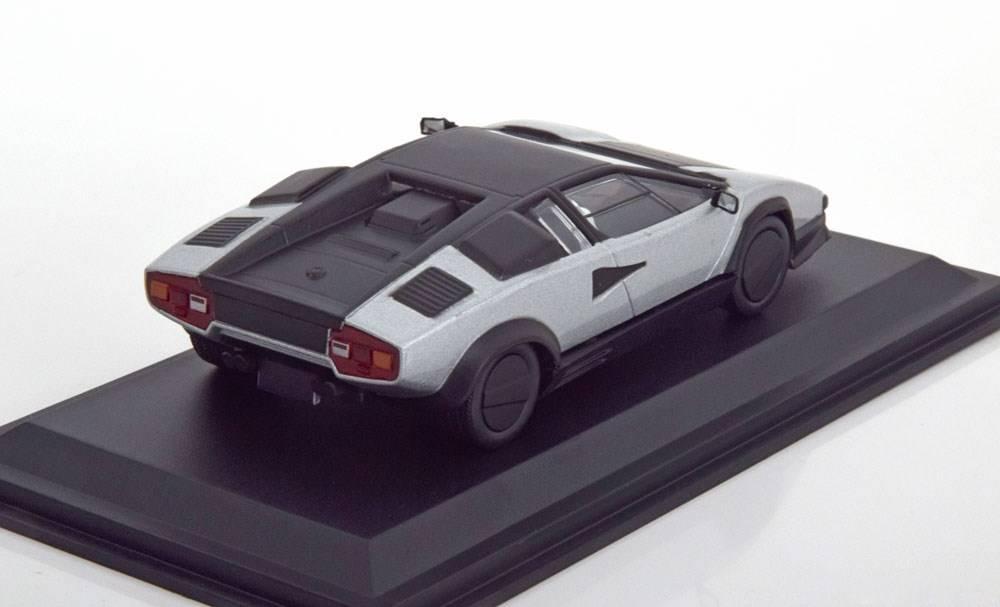Neu Lamborghini Countach Evoluzione 1987 Silber Matt
