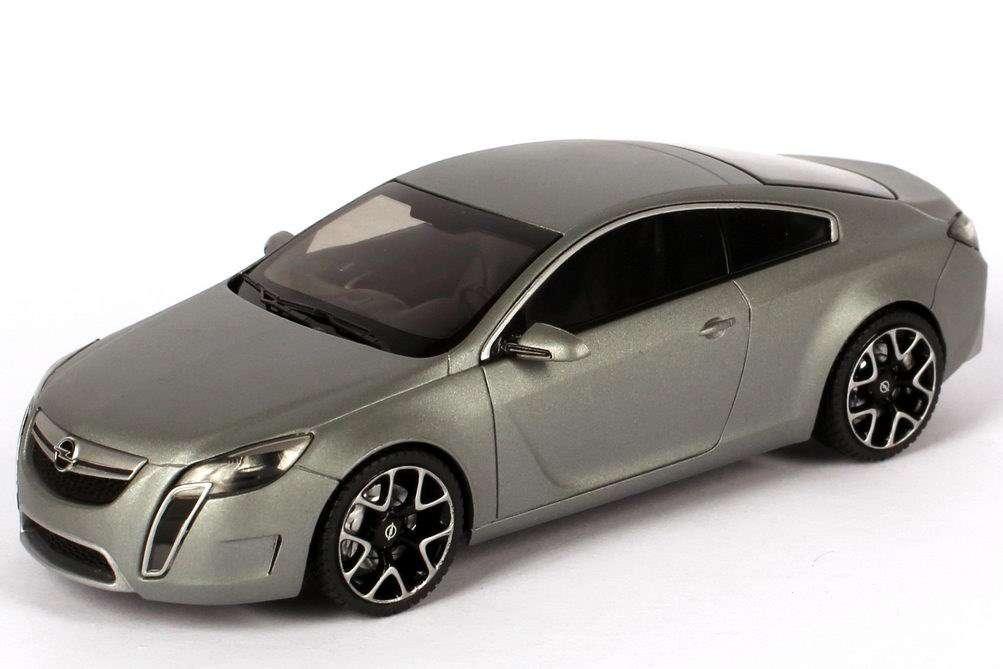 Neu Opel Gtc Concept Silber Matt Auto Salon Genf 2007 143