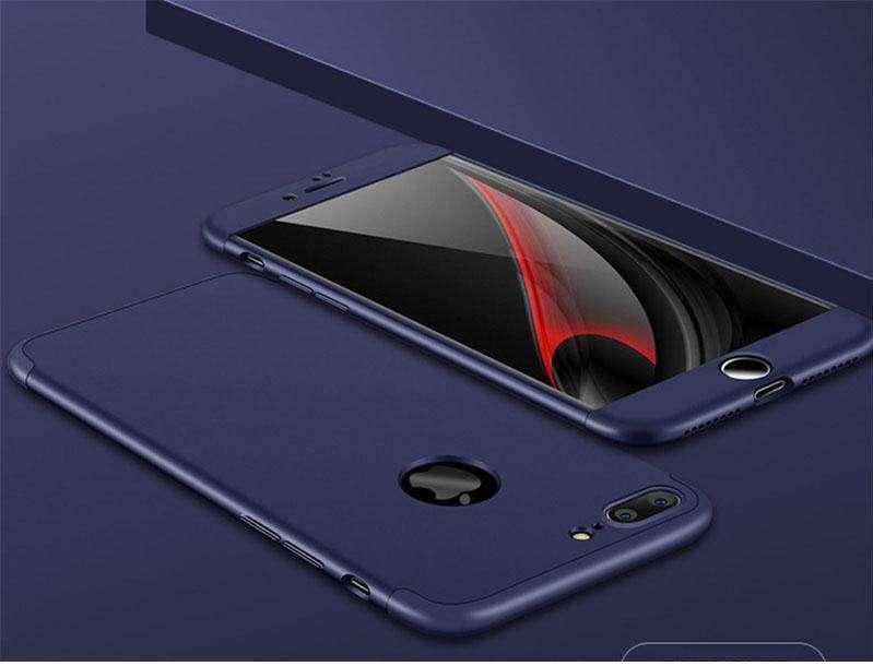 Apple Iphone 8 Plus Coque 360 Pro Cover Case Rose Gold Coques