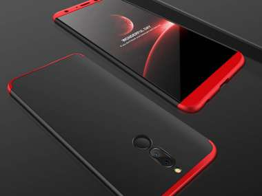 exclusive shoes best choice stable quality HUAWEI MATE 10 LITE Coque 360 PRO Cover Case Noir / Rouge
