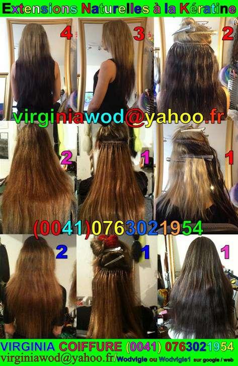 Extension cheveux naturel suisse