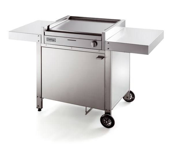 Nouveau plancha inox marque l chinger camping for Planche inox pour cuisine