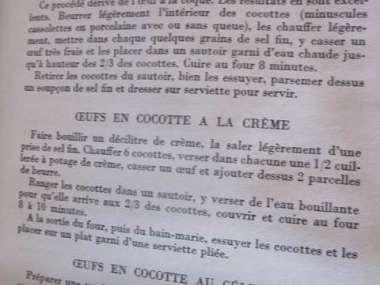 Ancien Livre De Cuisine Et Patisserie Francaises 1952