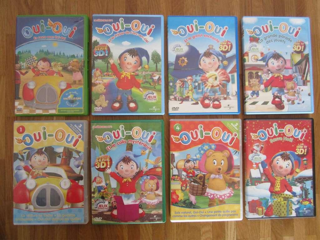 Dvd Oui Oui D Occasion 5 Le Dvd Dessins Animés Mangas