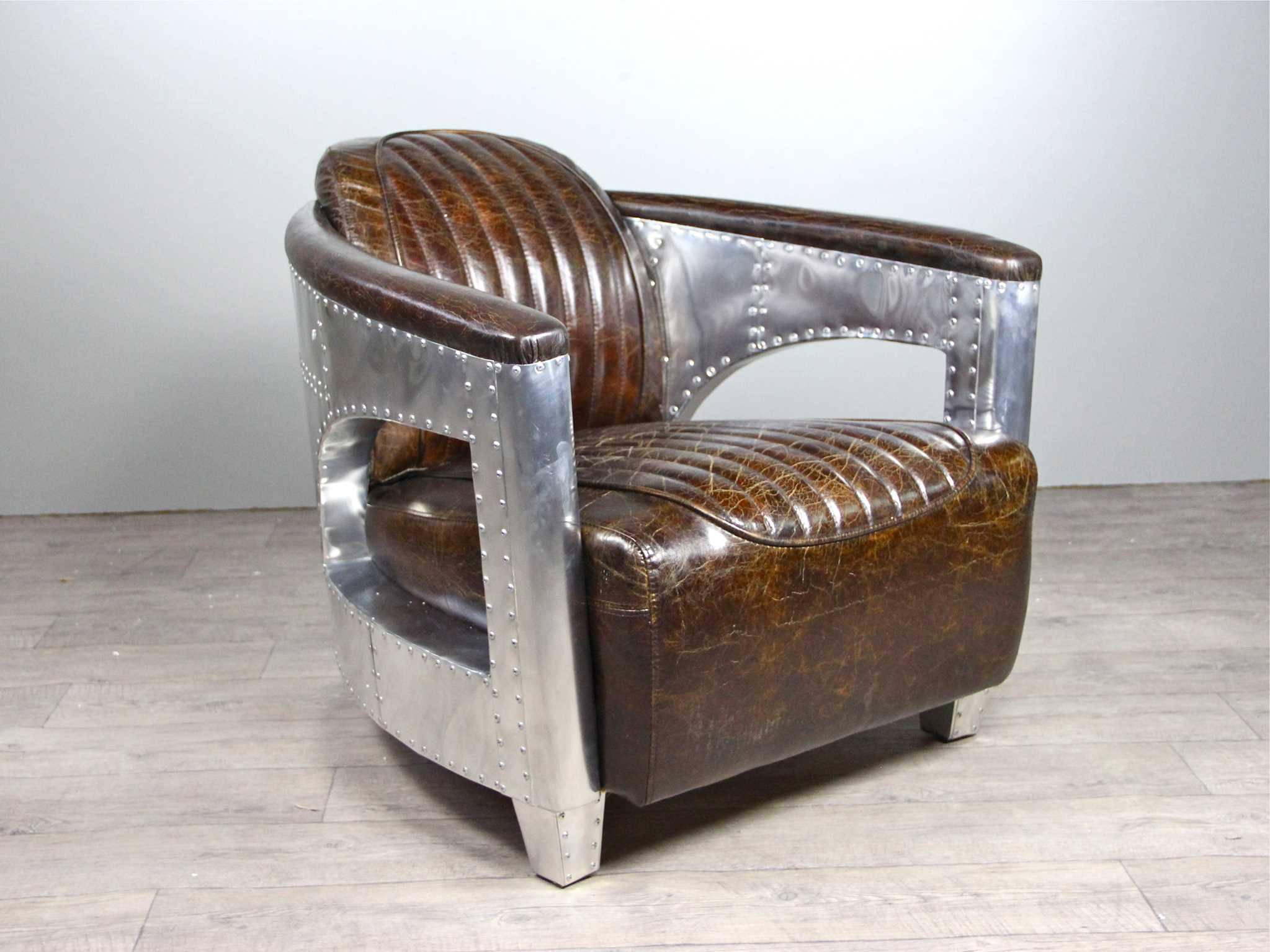 Leder Vintage Möbel -40% - Divani - Poltrona