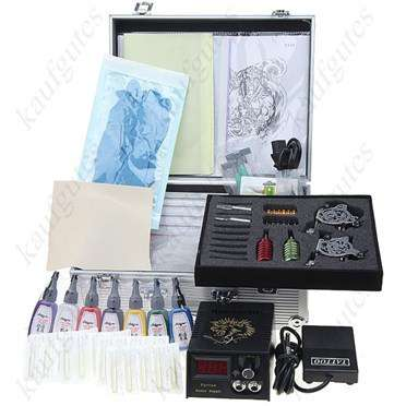 Kit Machine A Tatouer Professionnel professionnel 2 de machine de tatouage tattoo kit tattoo - divers