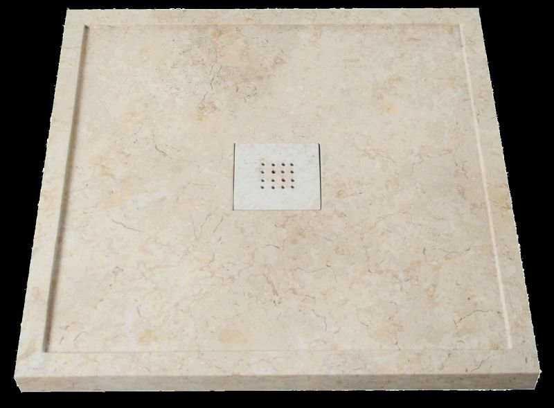 receveur de douche en pierre naturelle douches. Black Bedroom Furniture Sets. Home Design Ideas